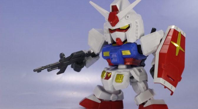 SD-EX RX-78-2 ガンダム サンプル素組レビュー