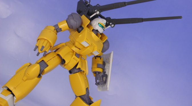HGオリジンMSD ガンキャノン機動試験型/火力試験型 サンプル素組レビュー