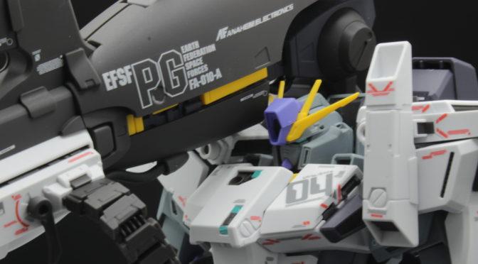 MG ガンダムセンチネル FAZZ Ver.Ka 組立代行 水転写デカール+艶消し素組