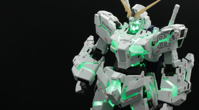 MGEX 1/100 ユニコーンガンダム Ver.Ka デカール、艶消し 組立代行