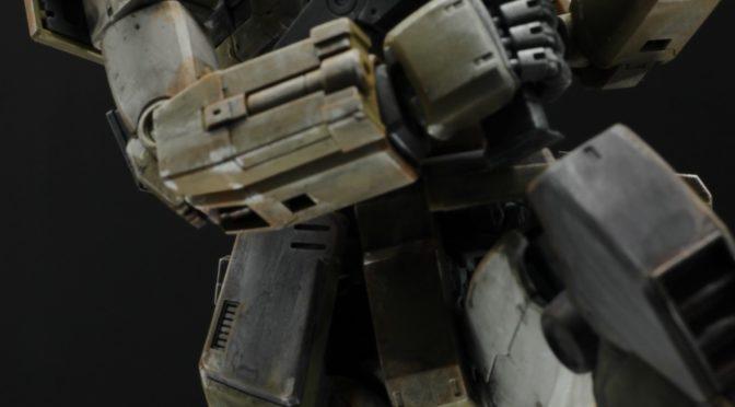 成形色活かしの汚し仕上げ MG 1/100 ジム・スナイパーカスタム